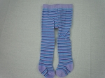 Lavender Purple and Blue Stripe Tights by BFF Doll Company